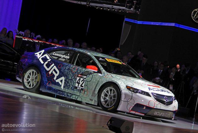 Acura TLX GT 34 630x425 2015 Acura TLX  GT Racer Car