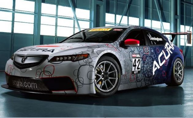 Acura TLX GT ext 630x385 2015 Acura TLX  GT Racer Car
