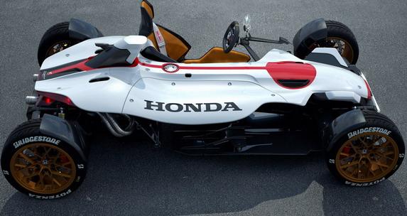 Honda Project 24 Concept Honda Project 2&4 Concept
