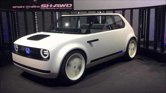 Honda Urban EV Concept 3 630x354 Honda Urban EV Concept Review