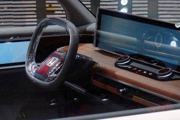 Interior vehículo Honda